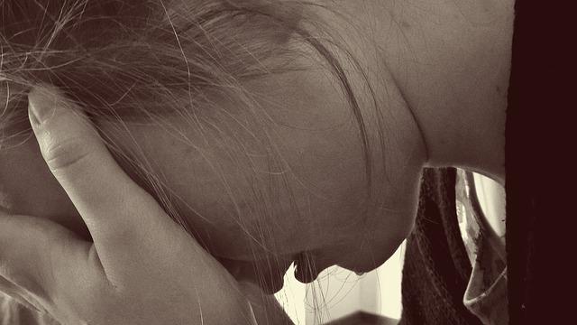 une femme souffrant d'une infection